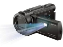 Sony FDR-AXP35 4K Camcorder PAL with Built-In Projector