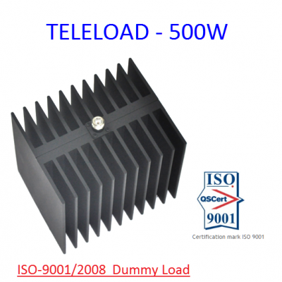 TELELOAD - 500W Dummy Load 500 Watt HF , VHF , UHF , Ghz , Aviation
