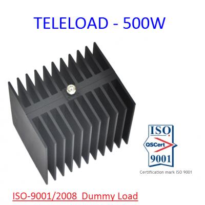 TELELOAD - 500W Dummy Load 500 Watt HF , VHF , UHF , Ghz , Aviation